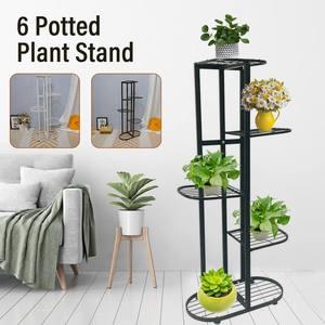 5 ярусов, многоярусные полки для растений, держатель для цветов, подставка для растений, металлическая подставка для растений, для балкона, сада, бонсай, домашняя витрина
