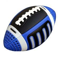 Boyutu 3 Rugby topu amerikan Rugby topu amerikan futbolu topu çocuk spor maç standart eğitim abd Rugby sokak futbolu