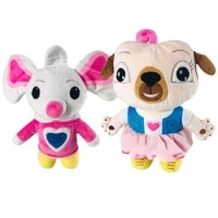 2pcslot 30cm new school cartoon movies chip and potato stuffed plush toys and mouse peluche doll for children birthday gifts