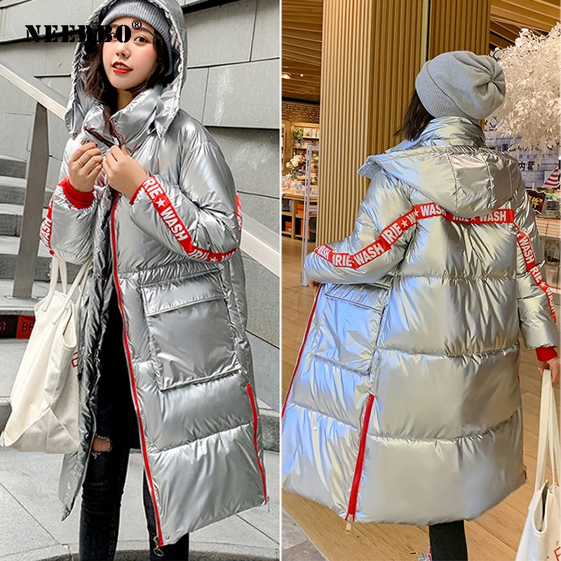 Long Winter Jacket Women Hood Plus Size Parka Casaco Cotton Ladies Puffer Female Coat Women Warm Parka Mujer Outwear Jacket
