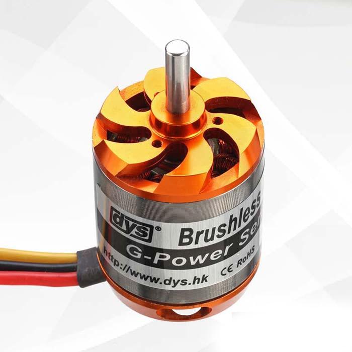 Motor sin escobillas FlashHobby DYS D3548 3548 790KV 900KV 1100KV para modelos RC