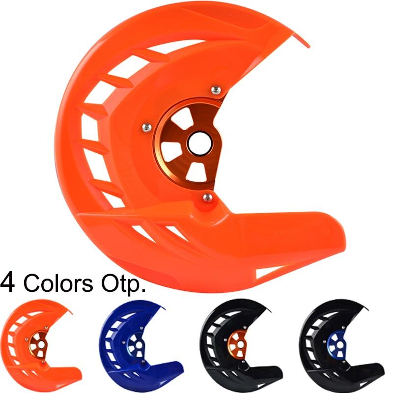 Protector de disco de freno delantero para KTM 125, 150, 200, 250, 300, 350, 400, 450, SX, SXF, XC, XCF, EXC, EXCF 530-18, 2017, SX-F, EXC-