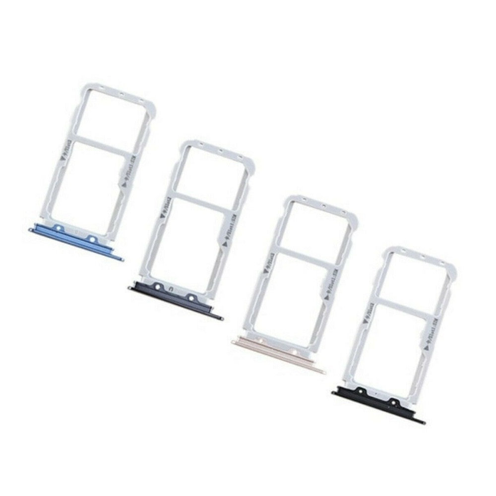 for Huawei Nova 2 Plus Silver/Black/Blue/Gold Color Dual SIM Card Tray Holder