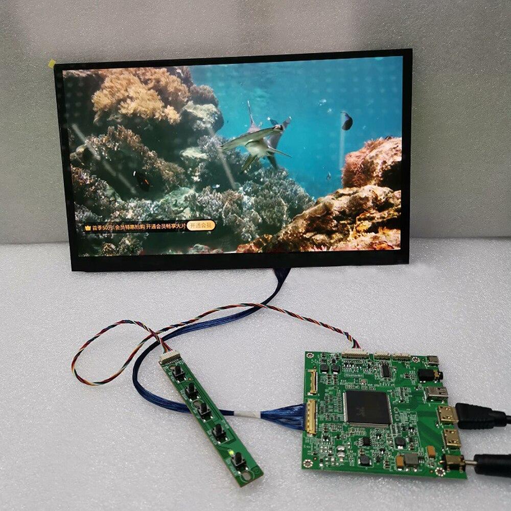 12,5 pulgadas 4K UHD LCD DLP 3D impresora SLA IPS PC pantalla UV Monitor de curado Pantalla de proyector 3840*2160 para Raspberry Pi LQ125D1JW31