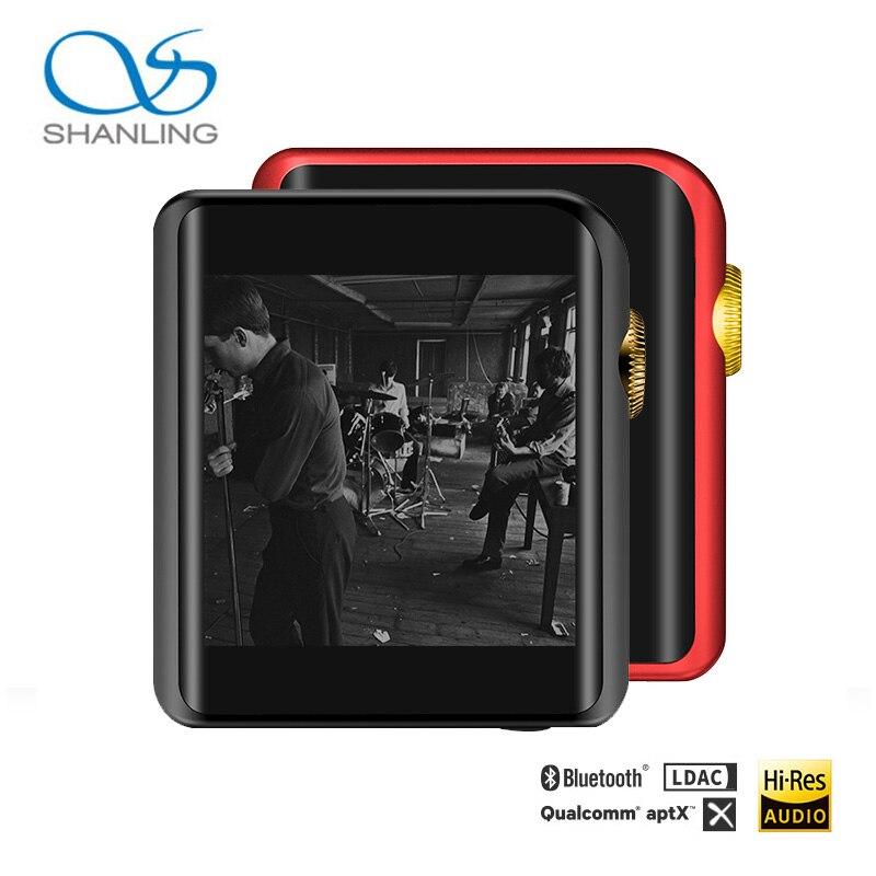 Lo más nuevo Shanling M0 Edición Limitada Hi-Res Bluetooth pantalla táctil reproductor de música portátil mp3, dos opciones: oro Negro o oro rojo
