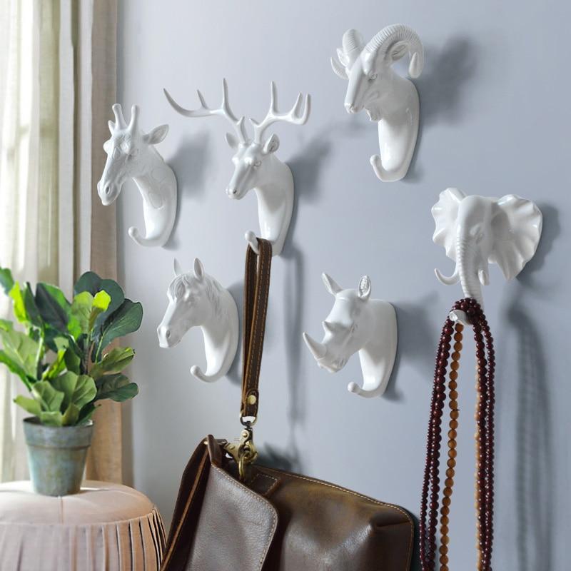 Hanger sleutels creatieve amerikaanse opknoping haak houder muur huis - Home opslag en organisatie - Foto 2