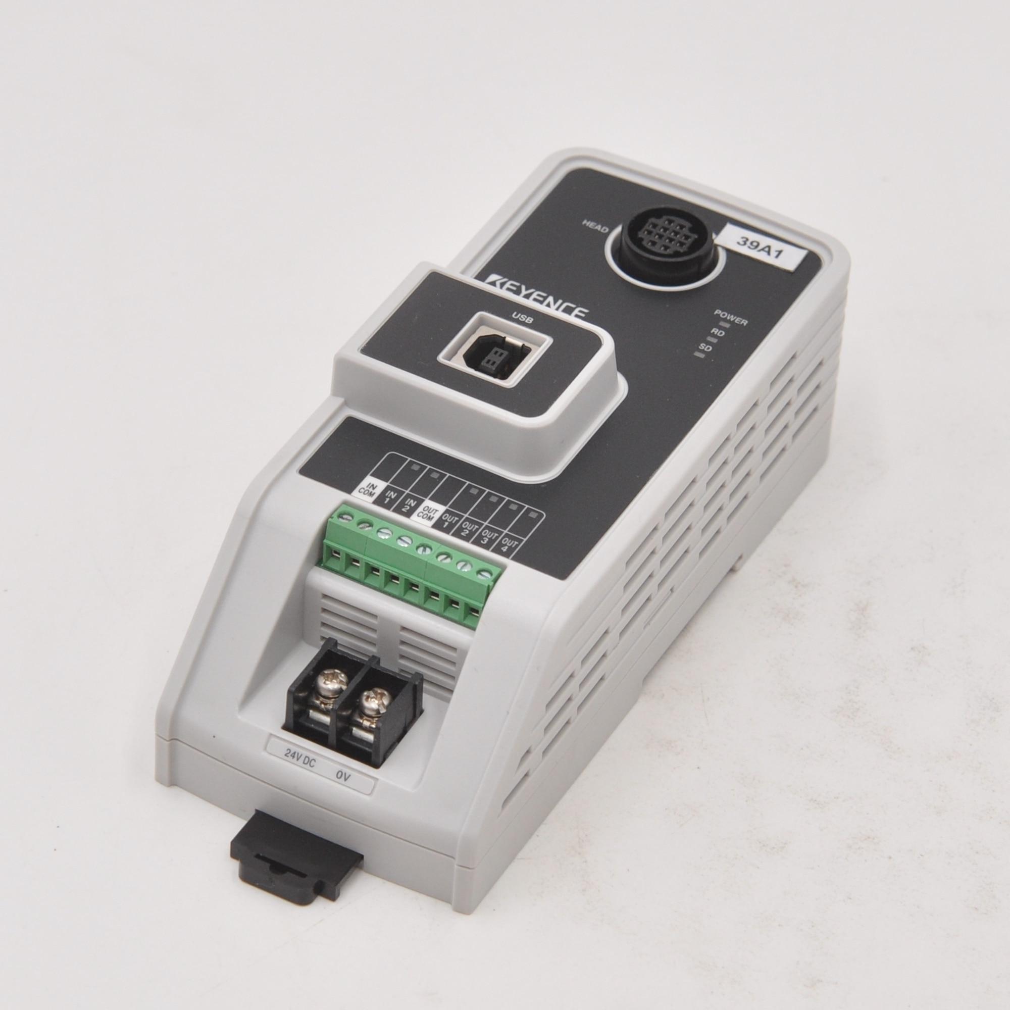 KEYENCE N-UB 24VDC SR-610 5VDC 2D barcode reader scanner enlarge