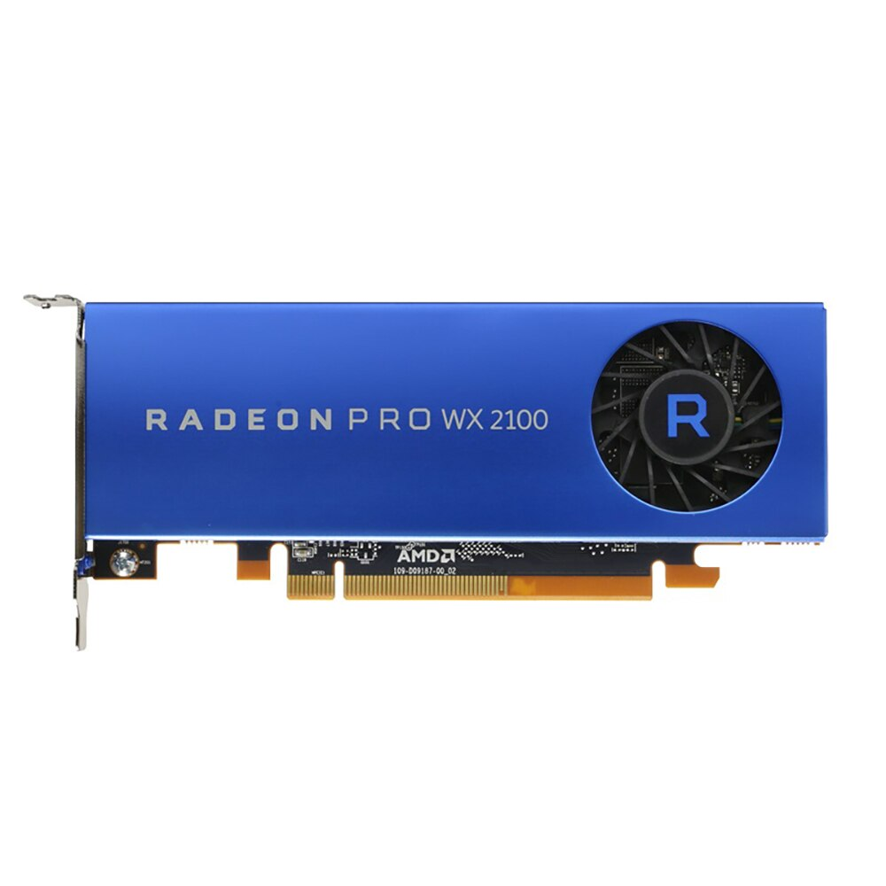 AMD Radeon Pro WX 2100 workstation graphics Graphic Card 2GB 2MDP1DP