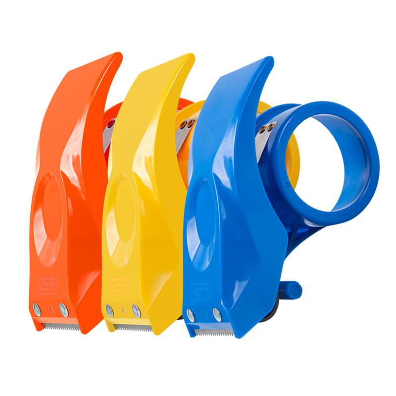 3Pcs Tape Dispenser Ergonomic Handheld Tape Cutter for Packaging Box Sealing