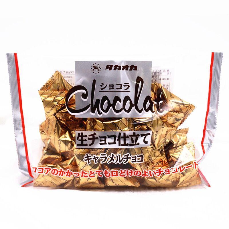 Takaoka Raw Chocolate Original Flavor kids snack 1bag 172g