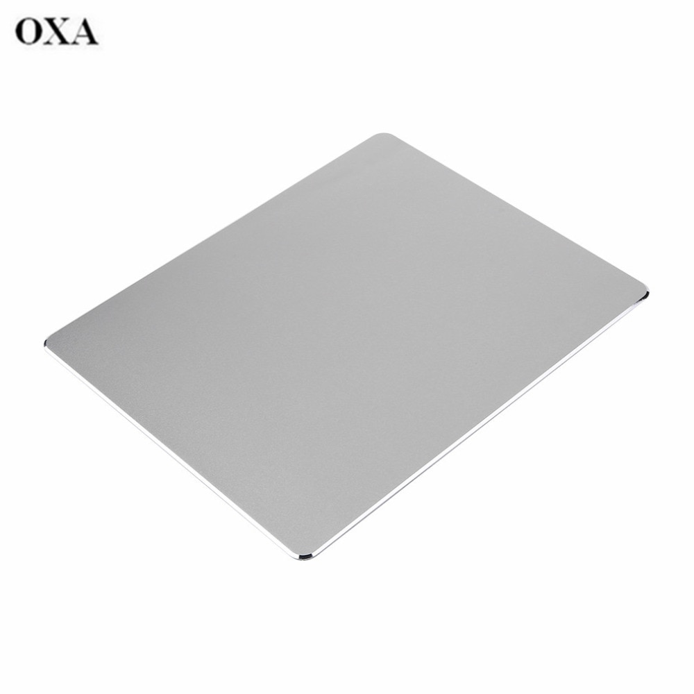ORIGINAL OXA Aluminium Metall Gaming Maus Pads Mäuse Matte Mauspad Mit Anit-slip PU Leder Ausgezeichnete Kreativ dropshipping