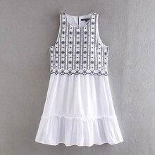2020 summer teenage girls floral dress 14 years old white princess costume