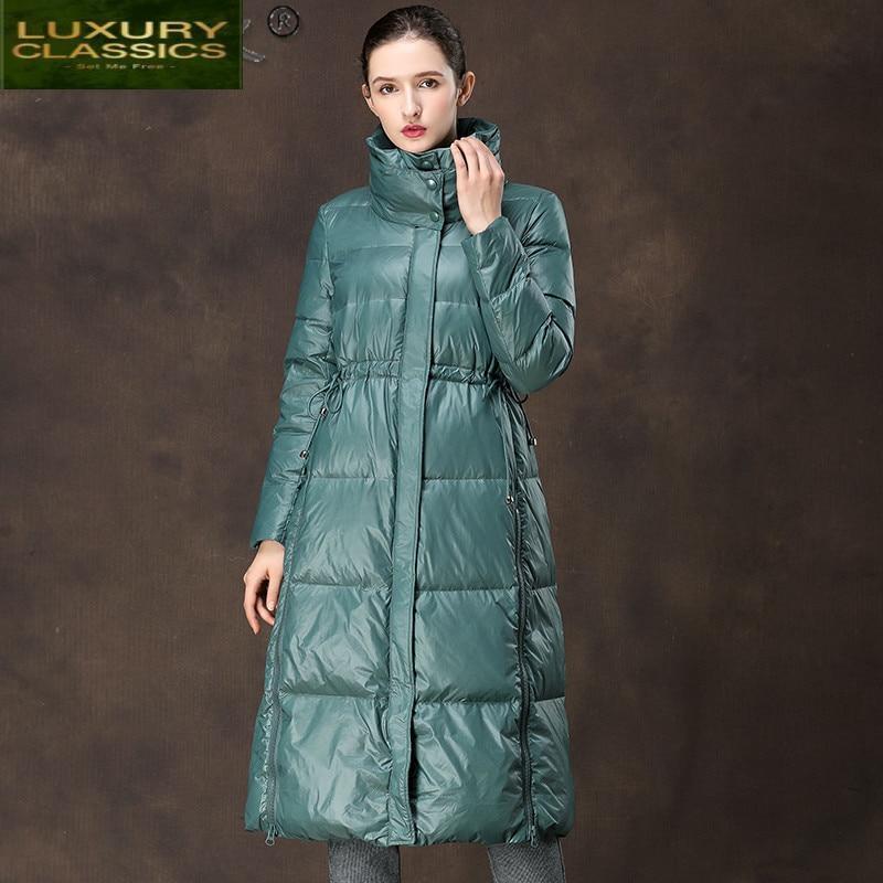 سترة نسائية شتوية, جاكيت نسائي شتوي طويل ملابس نسائية دافئة موضة 2021 Ropa Mujer YAMY19080 Pph690