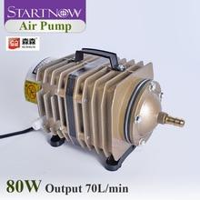 Pompe à Air solaire 70L/Min 80W   Compresseur dair électromagnétique, pompe à Air en pierre dair avec clapet de contrôle, tuyau deau pour lélevage du poisson