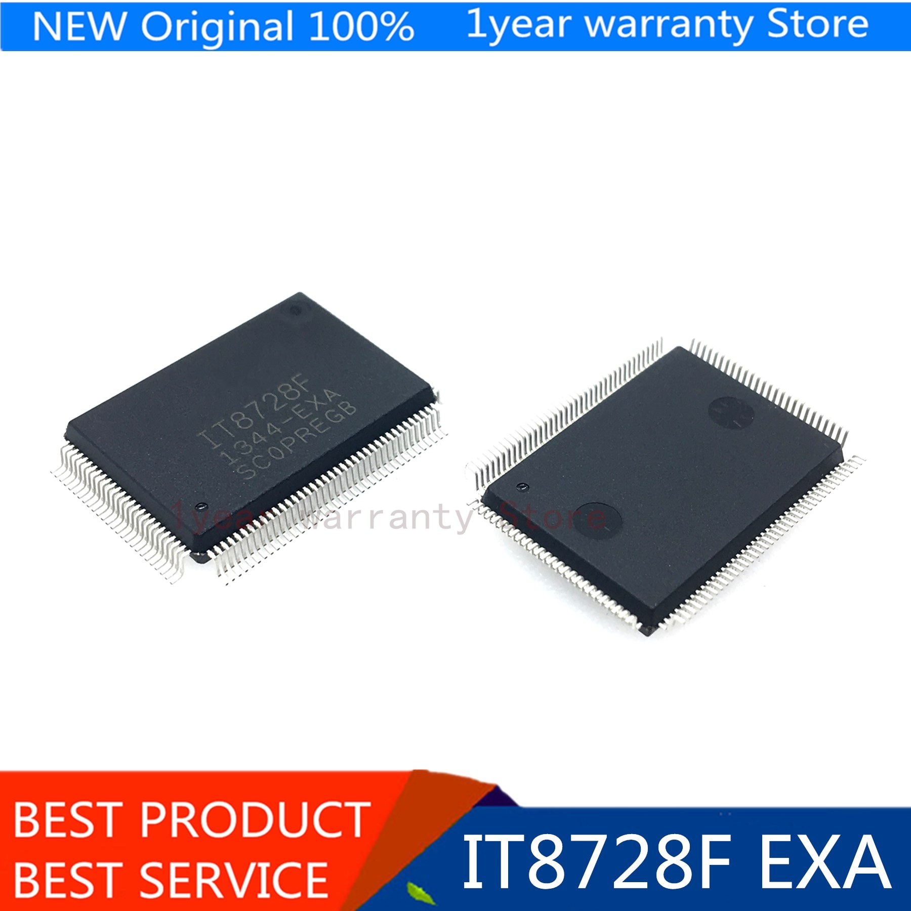 IT8728F EXS GB IT8728F EXA GB IT8728F DXS GB ( 2 pieces/lot) QFP-128 100%New original Computer Chip & IC