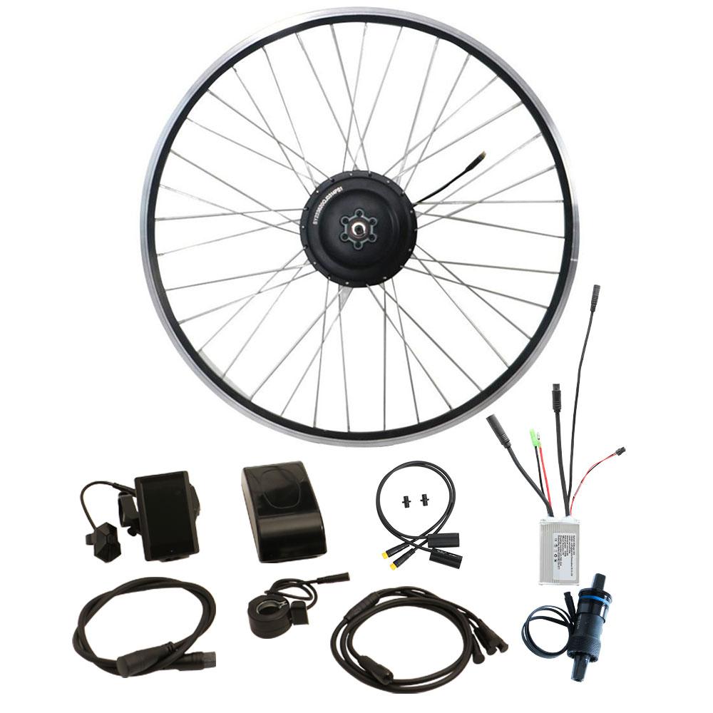 rear hub motor e-bike conversion kit with torque sensor