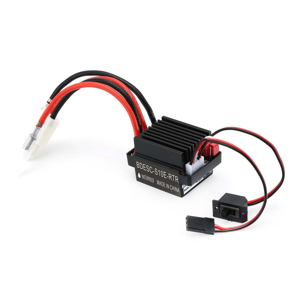 RC 540 35T 45T 55T Brushed Motor With 320 Speed Controller Waterproof ESC for RC Car Rock Crawler Axial SCX10 Model enlarge