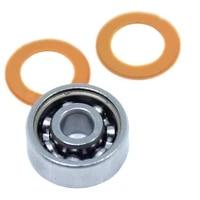 smr689 2os bearing 9x17x5 mm cb abec7 stainless steel hybrid ceramic bearing dry ocean fishing reels 689 ball bearings smr689c