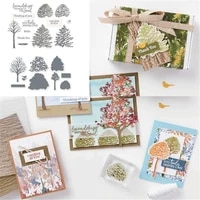 tree metal cutting dies and stamps stencils for diy scrapbooking photo album decor die cut embossing card crafts making