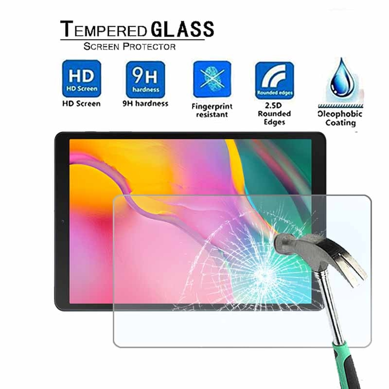 Para Samsung Galaxy Tab A 10,1 (2019) T510 - 9H Premium Tablet Protector de pantalla de vidrio templado Protector de pantalla