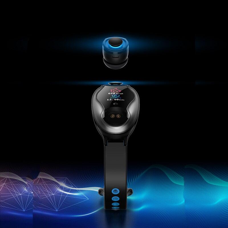 Nuevo reloj inteligente TWS T90 para mujeres y hombres con auriculares Bluetooth, Monitor de presión arterial, Android IOS SmartWatch deportivo