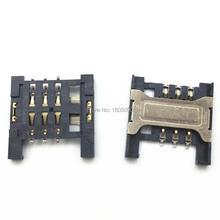 Connecteur de carte SIM Micro A298T A288T A336 ZTE V880 U880 partie de réparation mobiles   100 pièces, fente pour lecteur, carte SIM