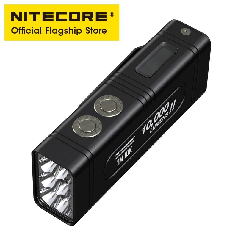 NITECORE TM10K Exploration Flashlight 10000 Lumens Tiny Monster ultra-high OLED Screen Charging Built in Battery throw 288 meter enlarge