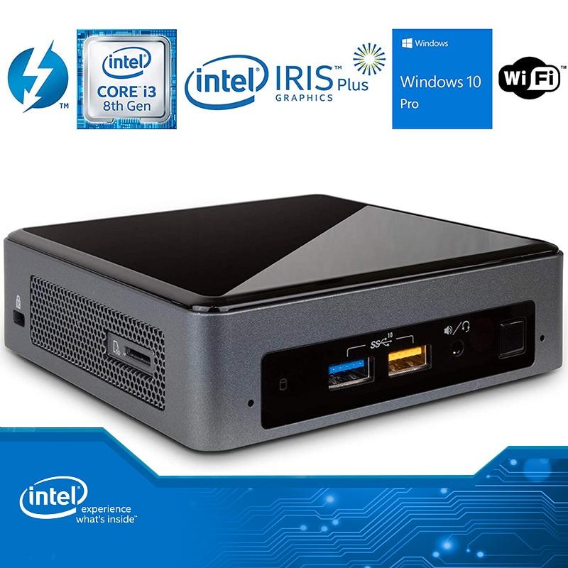 Мини-ПК Intel NUC nuc8i3beck двухъядерный i3-8109U DDR4 M.2 SSD Windows 10 Pro Wifi Bluetooth 4K офисный игровой мини-компьютер