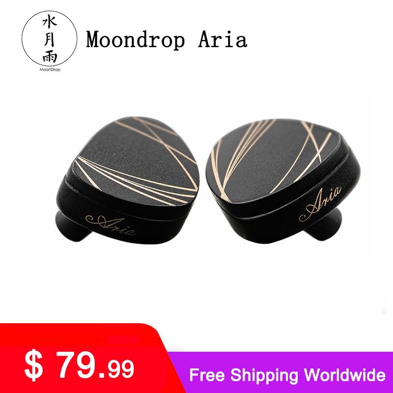 MoonDrop-سماعة رأس IEMs ، سماعات أذن ، أداء عالي ، غشاء ديناميكي LCP ، مع كابل قابل للفصل
