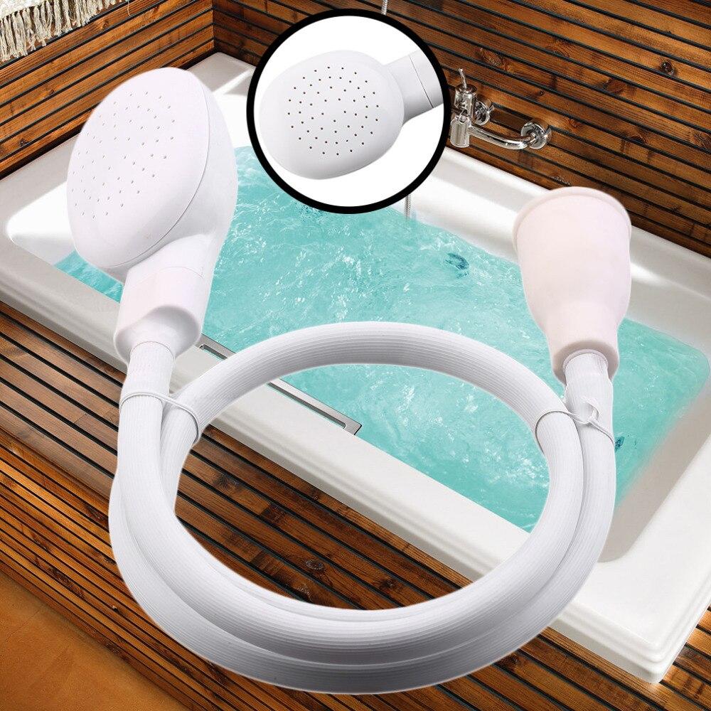 Dog Shower Head Spray Drains Strainer Pet Bath Hose Sink Washing Hair Pet Hairdresser Hair Wash Pet Push Saving Shower