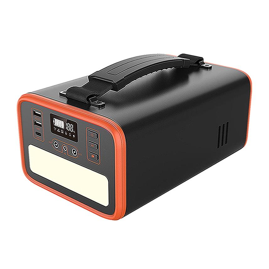 2021 Best Seller 110V 220V Portable Solar Generator 300Wh Lifepo4 Battery Portable Generator with Led Emergency Light