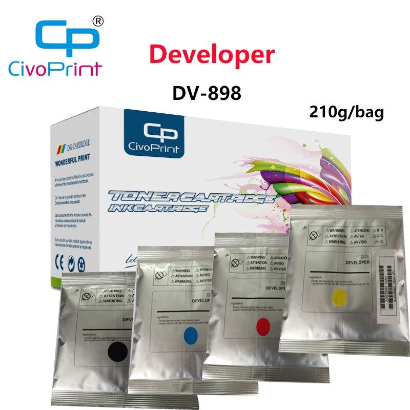 Civoprint 210g/bag compatible developer DV-898 898  for KYOCERA copier FS-8520/8525/TA205/255/2550ci /2551ci