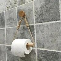 Corde a suspendre serviette Vintage  crochet rond  fournitures de decoration de salle de bains dhotel de maison