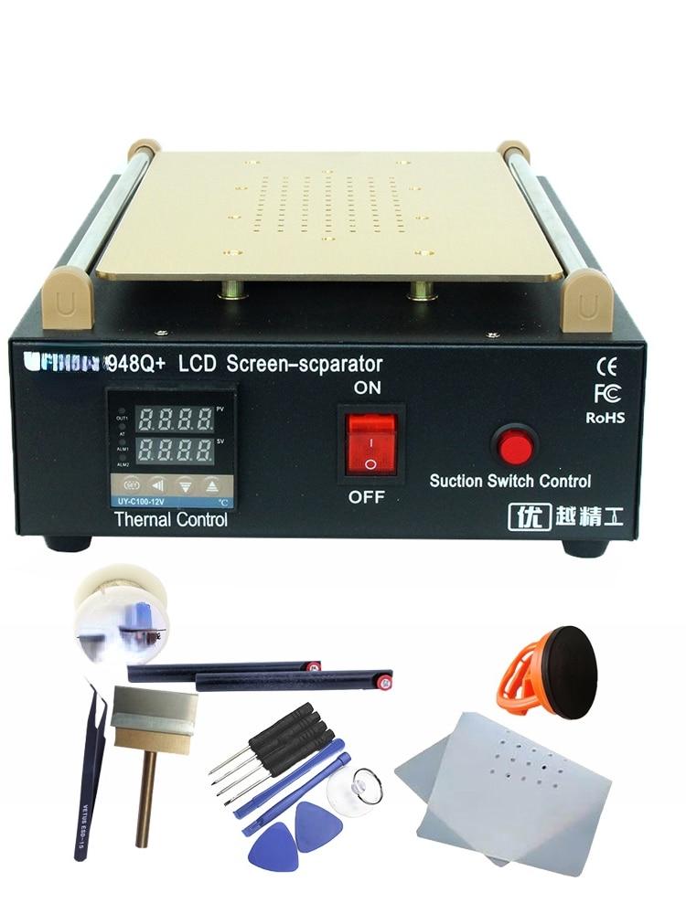 Built-in Vacuum Pump Touch Screen Renovation Repair 11-Inch Glass LCD Separator Kit enlarge
