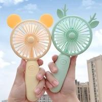 mini fan portable for fan handheld electric usb rechargeable fan appliances desktop air cooler outdoor travel hand fan sarmocare