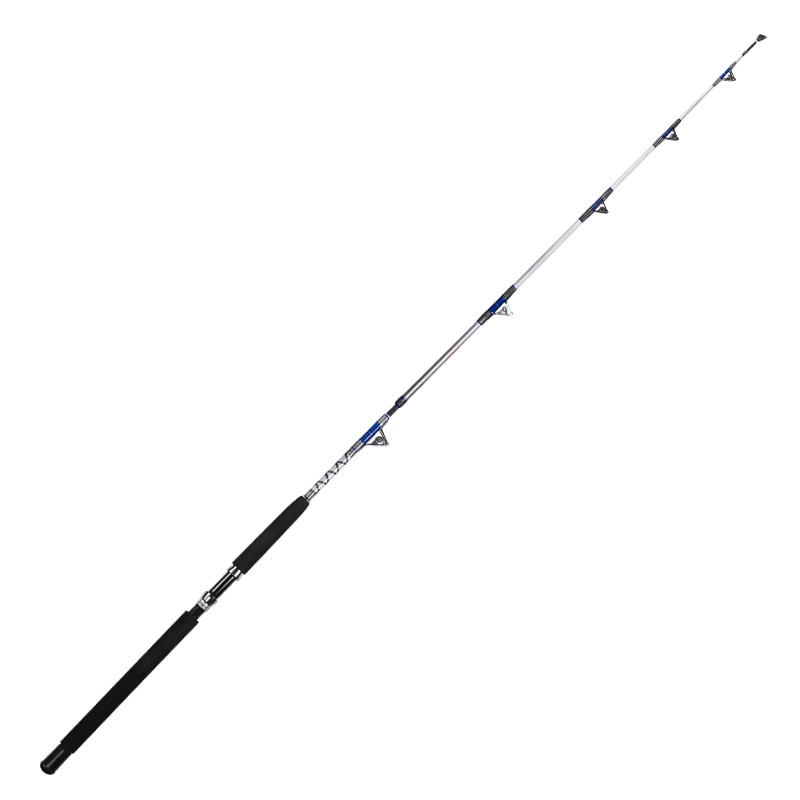 Fishing Tackle 1.98 2.1M Heavy Boat Fishing Rods Pulley Guide Ring Deep Casting Rod Anchor Sea Fish Pole Hard Carbon Fiber Pesca enlarge