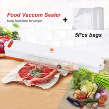 220V Household Vacuum Food Sealer Machine Sous Vide Vacuum Sealing Machine Film Container Food Sealer Saver Vacuum Packer