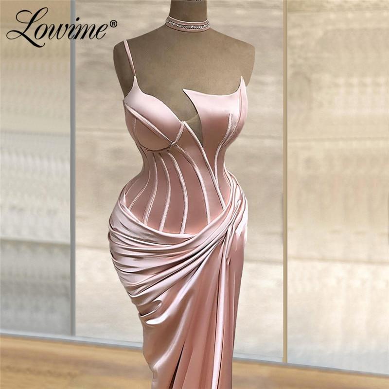 Rosa caliente Sexy vestidos para fiesta De tipo sirena vestidos largos De graduación 2020 africano De talla grande sirena vestidos De noche personalizados hecho De noche bata De noche