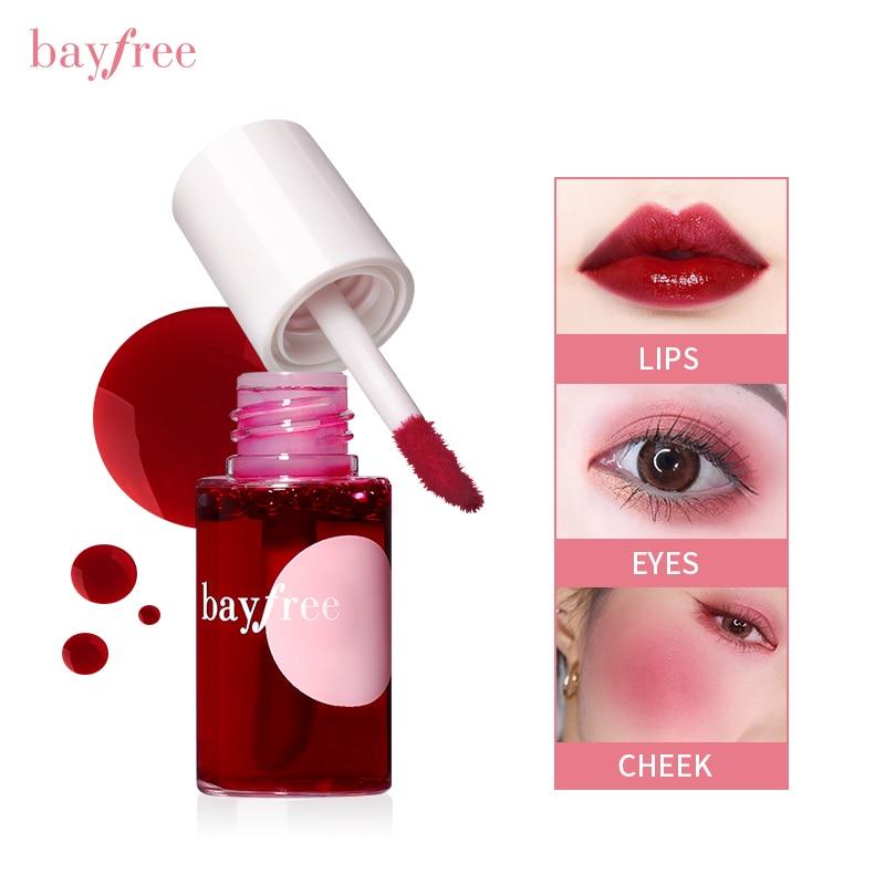 1PC Makeup Lipstick Women Makeup Waterproof Multifunction Lip Gloss Tint Dyeing Liquid Lip gloss Blu