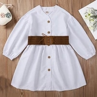 spring autumn 2021 new girl kids dress casual dress childrens costume teenager clothes girls clothes for 4 11 years