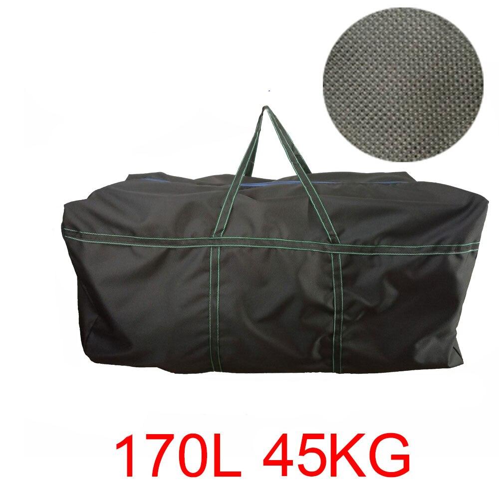 Большая емкость, каяк, надувная ПВХ сумка на ремне для лодки, прочная сумка для хранения рыболовной лодки для водных видов спорта, корпус, су...