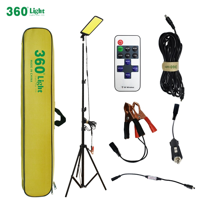 360light Portable LED camping light rechargeable car lights for drive travel Night fishing outdoor LED camping garden lighting