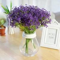 Fleur artificielle Gypsophila a 7 branches  originale  decoration creative pour la maison  pour mariage