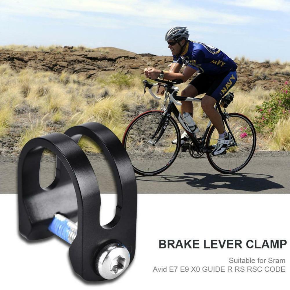 Con perno, duradero, negro, fácil instalación, accesorios para bicicleta en forma de U, abrazadera de palanca de freno fijo, anillo para bicicleta Sram Avid E9 X0