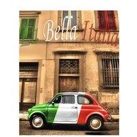 Peinture diamant paysage de voiture  broderie 5D  points de croix  mosaique  ville italienne  couture  decoration de maison  perceuse ronde  bricolage