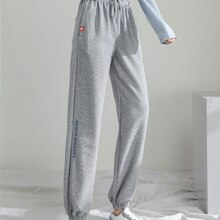 Real Shot Autumn New Casual Pants Sports Pants Female 2021