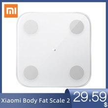 Balance de Composition de graisse corporelle intelligente Xiaomi Mi originale 2 13 Date du corps