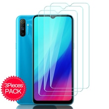 3PCS Protective Glass for Realme C11 C21 C3 C15 C12 GT Neo Narzo 30 5G 30A Screen Protector On Realmi C 21 3 11 12 15 Safe Glass