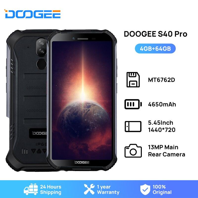 Перейти на Алиэкспресс и купить Смартфон DOOGEE S40 Pro защищенный, IP68/IP69K, 4 + 64 ГБ, Helio A25, 8 ядер