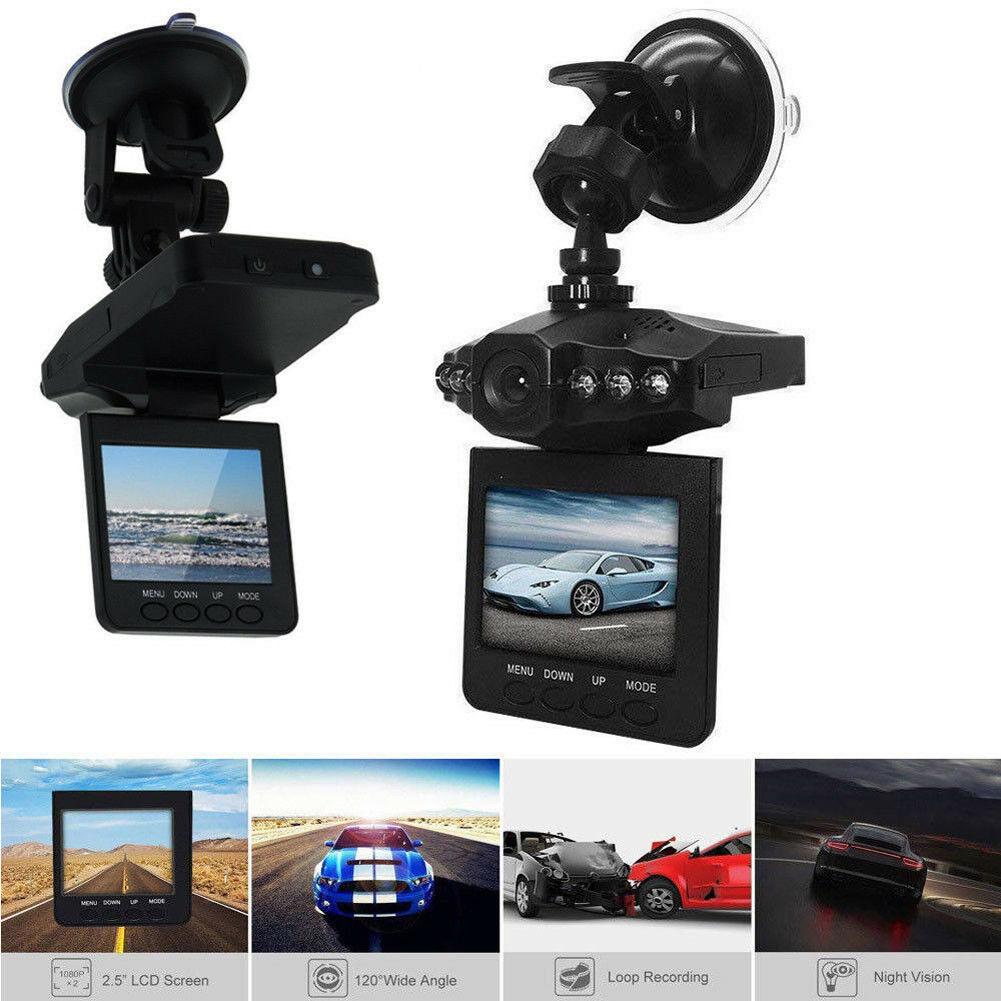 Cámara de coche grabadora de conducción Dash Cam con tarjeta SD 32G HD 1080P visión nocturna DVR